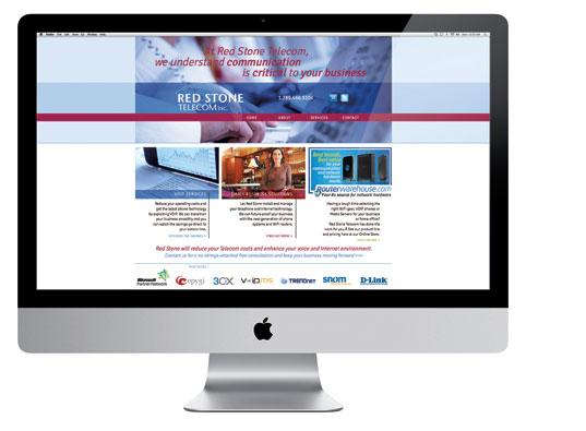 REDSTONE TELECOM WEBSITE