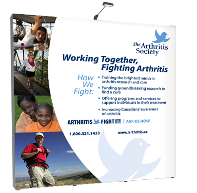 The Arthritis Society Awareness Display