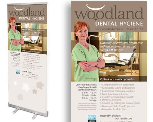 Woodland Dental Hygiene Office Display